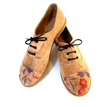 Brogues Cork Shoes - Women's Shoes - Cork Shoes