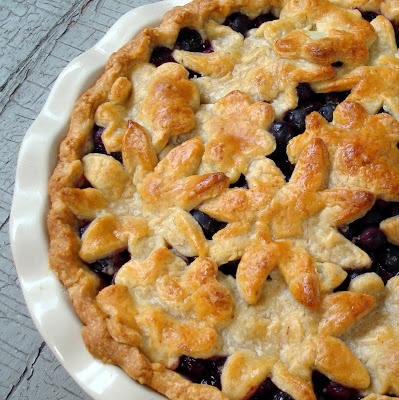 Blueberry Pie with Sweet Almond Crust | Recipe