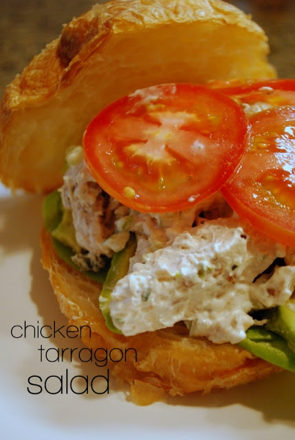 lizzy writes: chicken tarragon salad | Savories | Pinterest