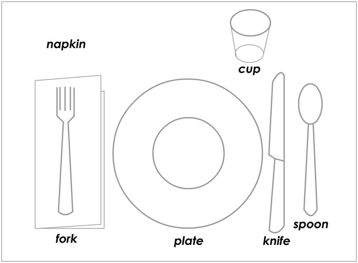 a proper place setting food and drink pinterest