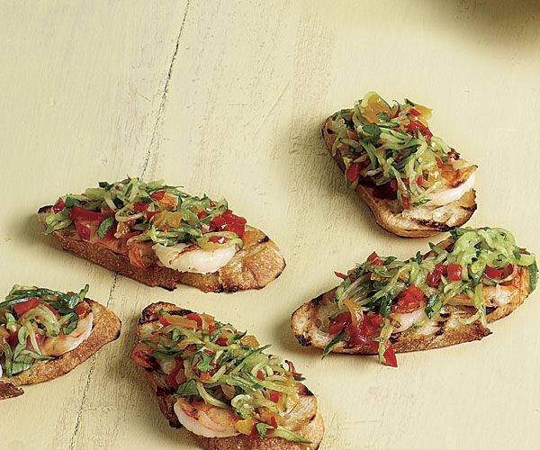 Cucumber and Peppadew Grilled Shrimp Bites   Recipe