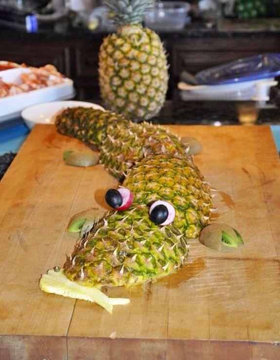 Pineapple decor kooper pinterest for Ananas dekoration