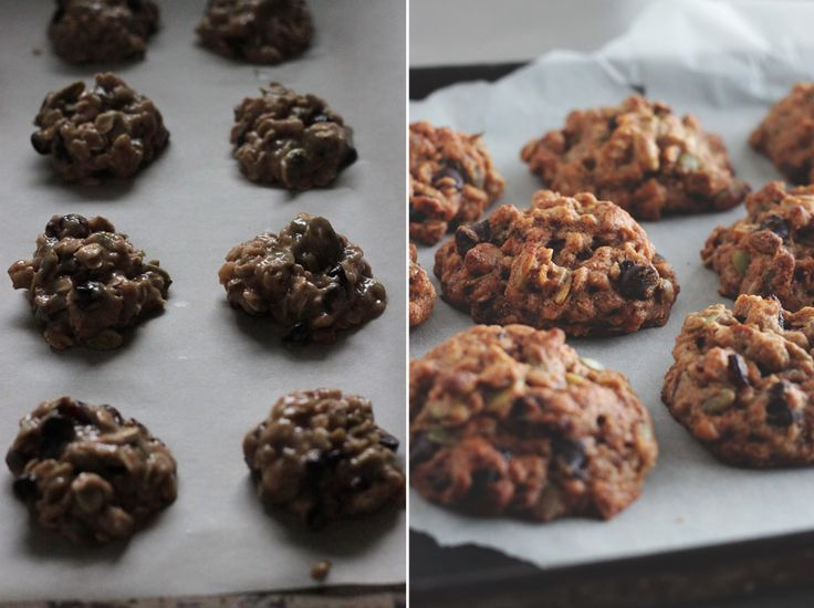 Gluten-free Everything Cookies - I made with dried sour cherries ...