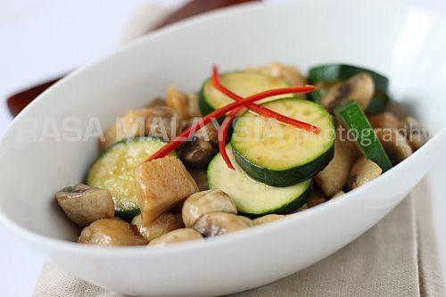 Mushroom Chicken | Mushroom Chicken Recipe | Easy Asian Recipes at ...