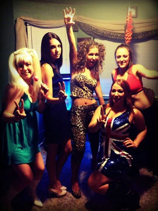 Spice girls!!!  Group costume
