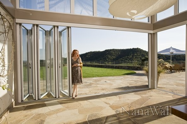 Folding Glass Wall Home Ideas Pinterest