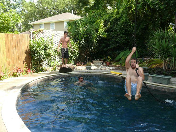 zipline backyard ideas for kids pinterest