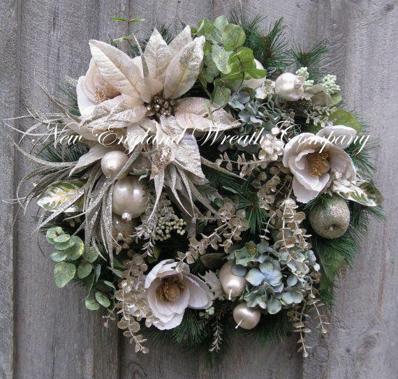 Christmas Wreath Holiday Wreath Designer Holiday D233cor Elegant Chr