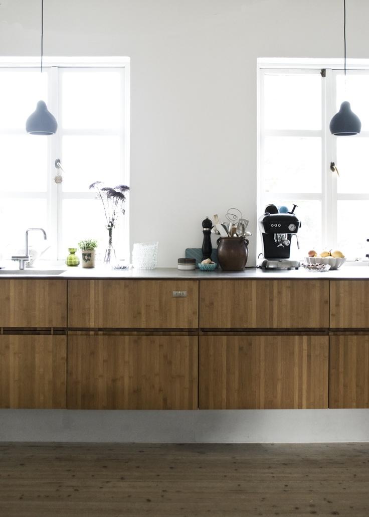 Floating Kitchen Cabinets Kitchen Wood Pinterest