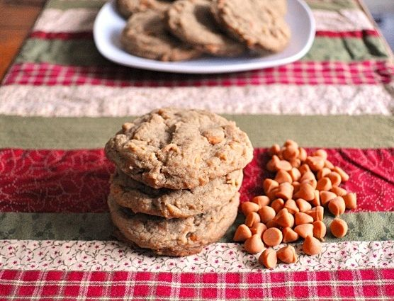 ... : Chronicles from a Vermont foodie: Butterscotch Gingerbread Cookies