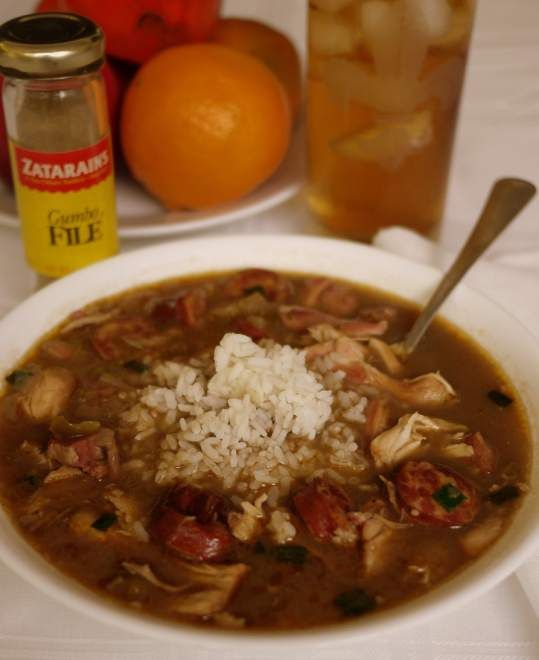Chicken and sausage gumbo | Food | Pinterest