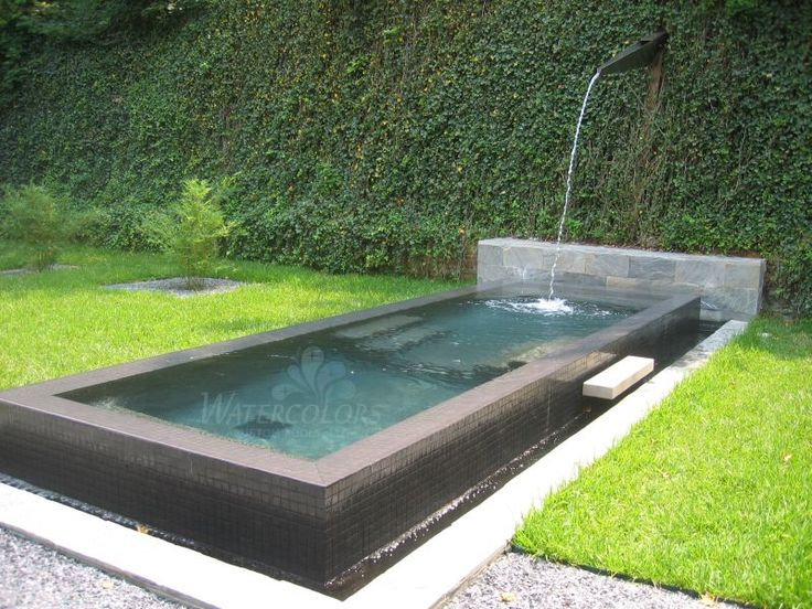 Cocktail pool Poolscapes Pinterest