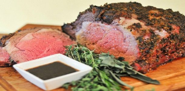 Herb Crusted Standing Rib Roast | Main Dishes - Sandwiches, Soups & C ...