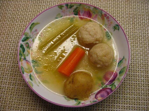 chicken matzo ball soup | Health | Pinterest