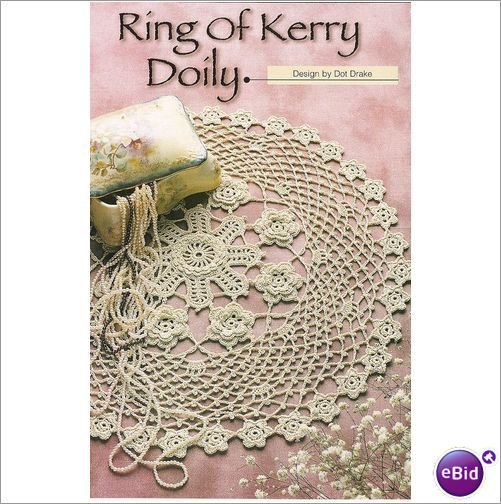 Crochet Patterns Nz : Crochet Doily Pattern Ring Of Kerry Doily on eBid New Zealand