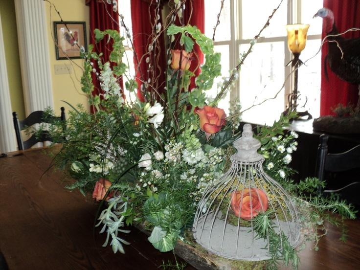 Fresh Flower Centerpieces For Weddings Fresh Party Centerpiece Wedding Flowers Pinterest