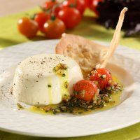 Goat's cheese panna cotta | Food & Recipes | Pinterest