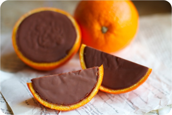 Real chocolate oranges | Dessert | Pinterest
