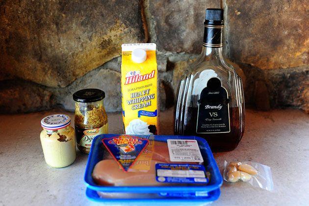 Chicken with Mustard Cream Sauce 4 whole Boneless, Skinless Chicken ...
