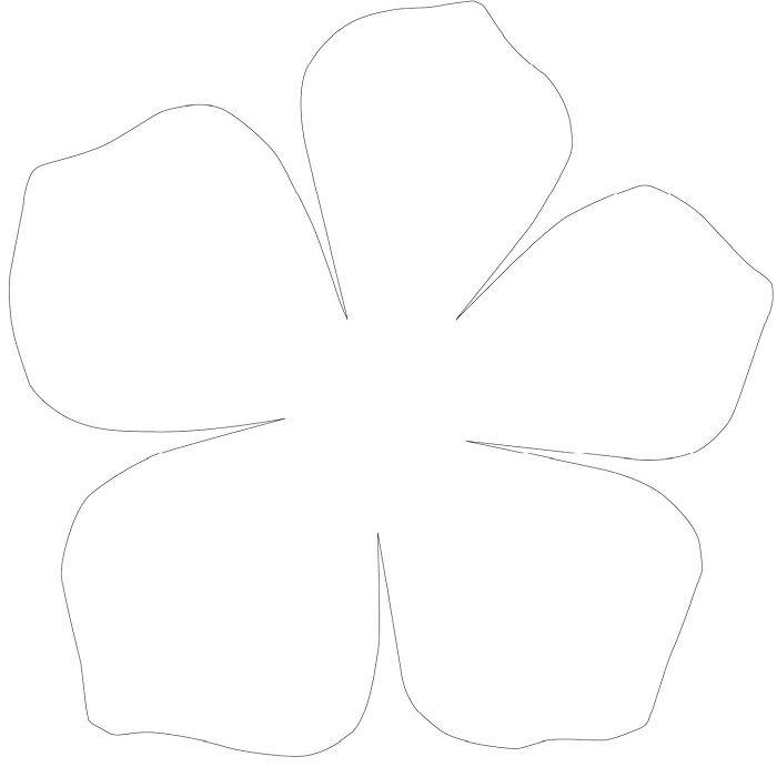 Шаблоны для бумажных цветов своими руками 468