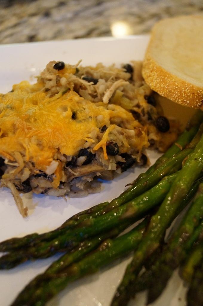 Chicken and Black Bean Casserole | Crockpot and Casseroles | Pinterest