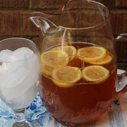 Sparkling Lemon Almond Tea Recipe