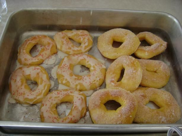 Baked Sugar Doughnuts (Bread Machine) | Recipe