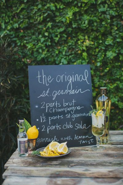 The Original St. Germain. | fun drinks | Pinterest