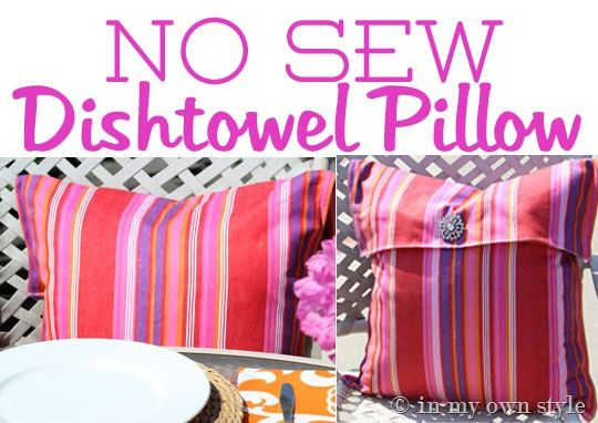 No-Sew-Pillow-cover