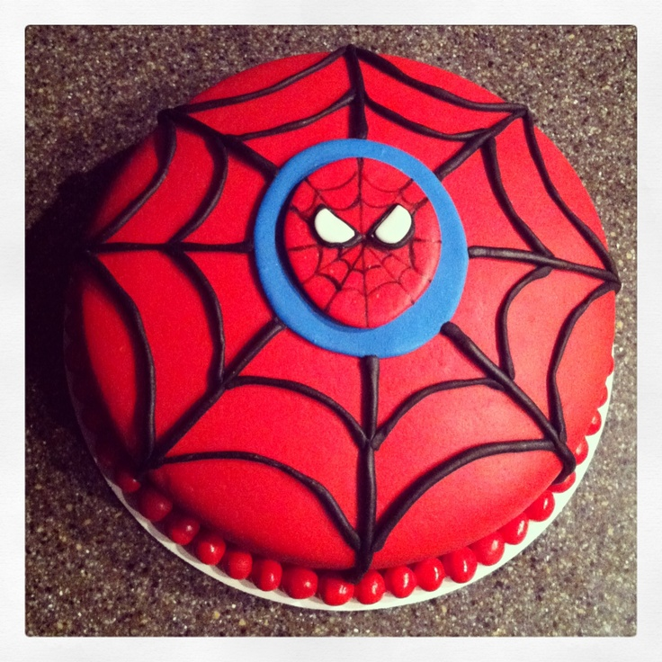 Birthday Cake Designs Spiderman : Spiderman cake Birthday party ideas Pinterest