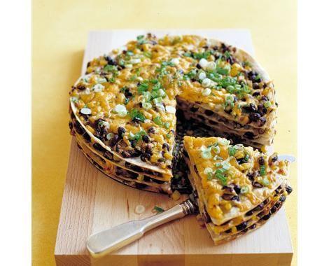 Tortilla and Black Bean Pie Recipe | Food Recipes - Yahoo Shine