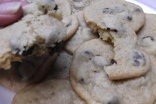 Tart Cherry-Dark Chocolate Chip Cookies | Things I've made | Pinterest