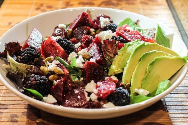 Beet, Blood Orange, Avocado Salmon Salad | Your Salmon Recipes! (Shar ...