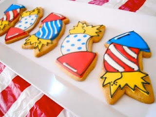 Fireworks Cookies | BAKING - Cakes, Cupcake & Cookie Decorating Ideas ...