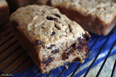 Chocolate Bourbon-Spiked Banana Bread | My Sweet Tooth... | Pinterest