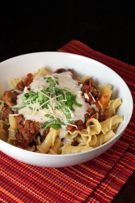 Deconstructed Lasagna | Eat and Sip | Pinterest