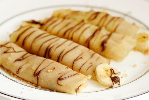 banana nutella crepes   Baking & desserts   Pinterest
