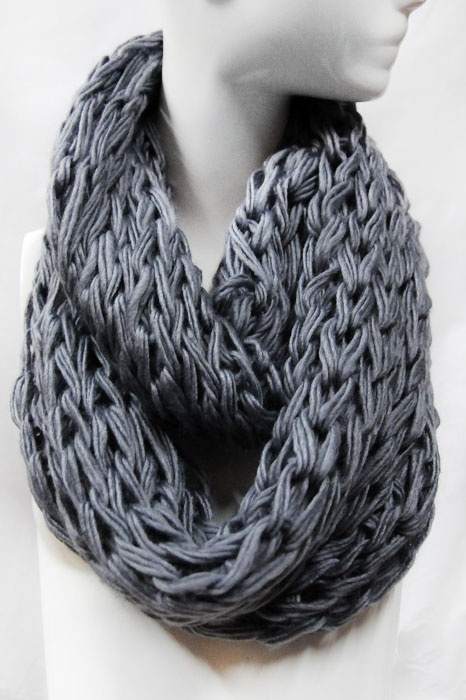 Knitted Infinity Scarf Pattern Pinterest : KNIT INFINITY SCARF FOREVER VENICE SCARVES Pinterest