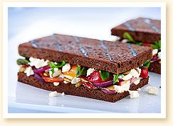 Grilled Cheese Academy, The Verde - feta, roasted beets, arugula, and ...
