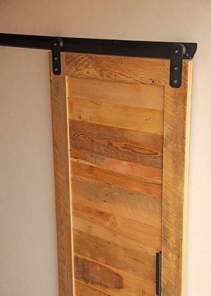 Barn door hardware v track cheap diy pinterest for Cheap barn door hardware