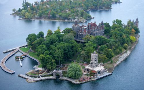 Boldt Castle Thousand Islands In Upstate New York