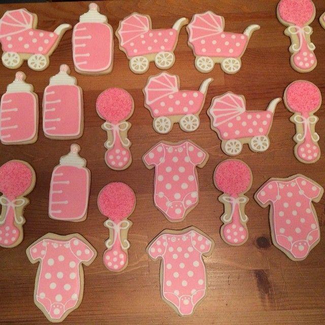 baby shower sugar cookies my baking addiction pinterest