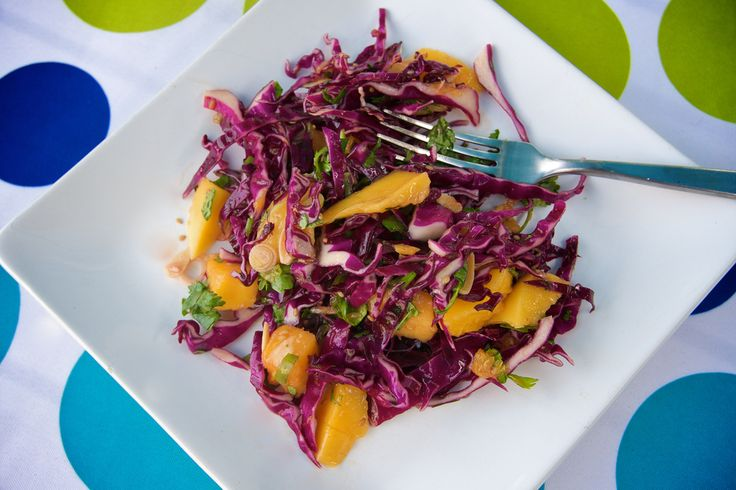 Asian Inspired Mango Orange Slaw | SRIRACHA... CHA CHA CHA | Pinterest