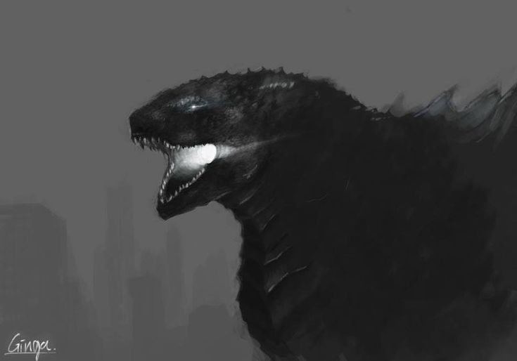 Godzilla 2014 Inspired Fan Art