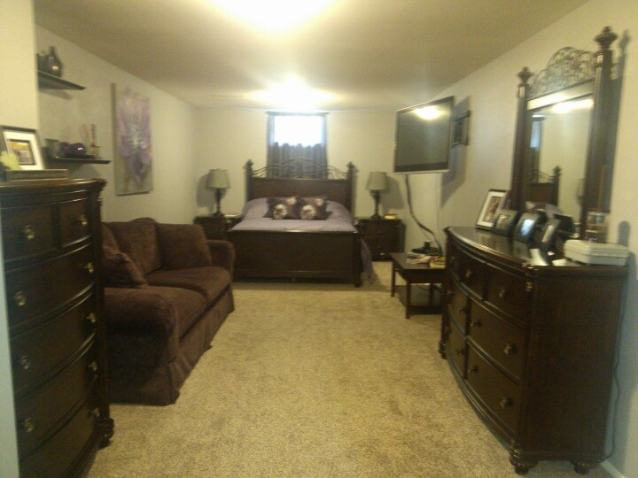 My Basement Master Bedroom