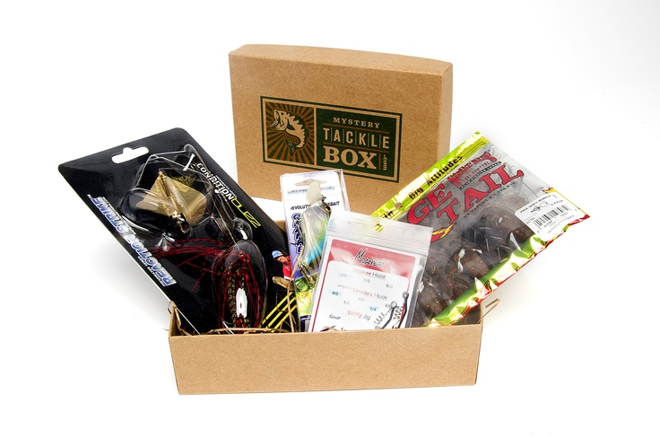 Mystery tackle box for Fishing box subscription