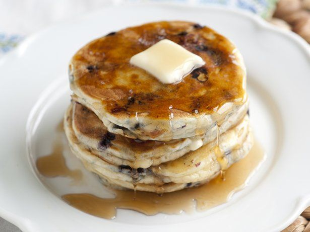 ... pancake recipe made easy. Easy Blueberry-White Chocolate Pancakes