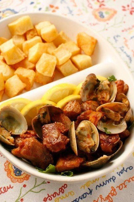 carne de porco á alentejana | My Portuguese Azorean Roots ...