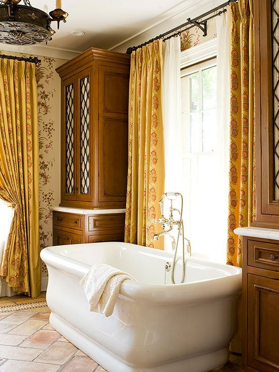 Tuscan decor Tuscan style bathroom ideas