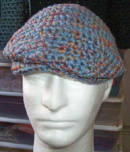 Crochet Patterns For Men s Hats : crochet mens hat Pinterest